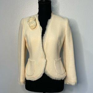 ☀️2 For $30☀️ Banana Republic   Wool Cream Jacket